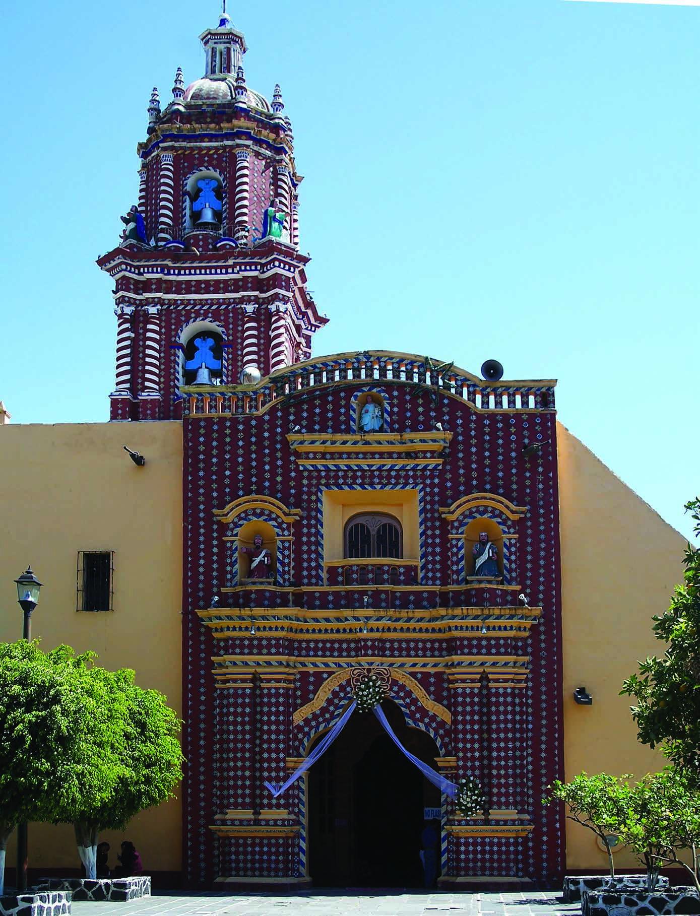 Templo de Sta. María Tonantzintla