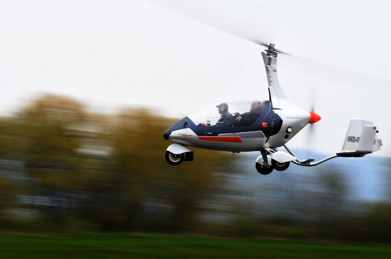 GyroDrive, el helicóptero en carretera que quiere competir con coches voladores