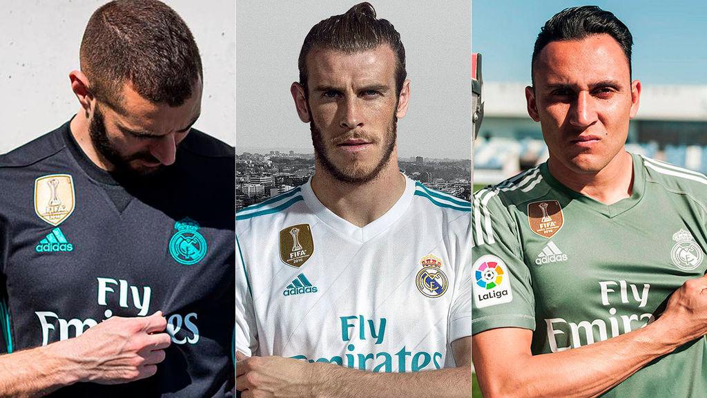 El nuevo uniforme del Real Madrid