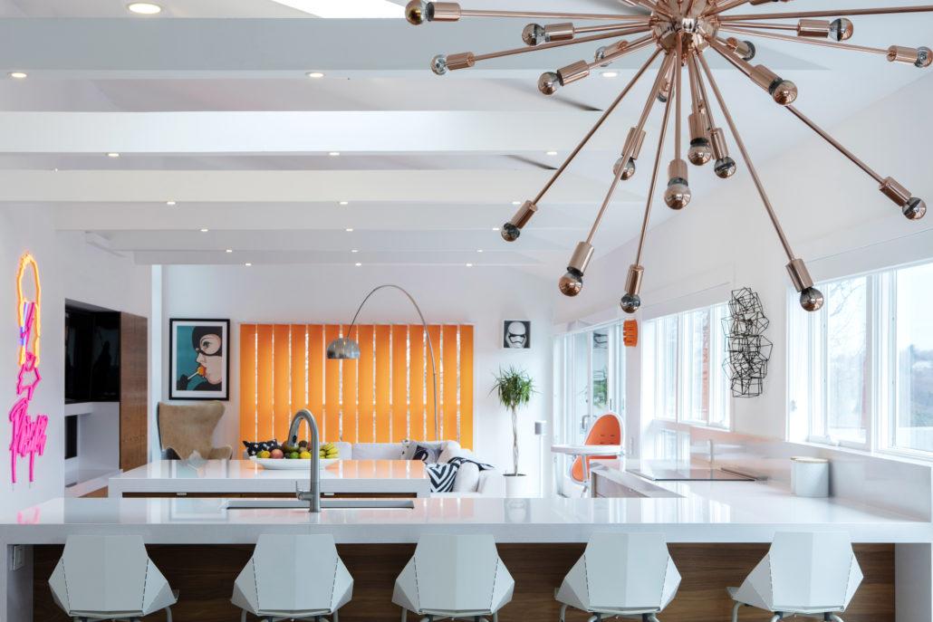 Así luce la cocina de una supermodelo.
