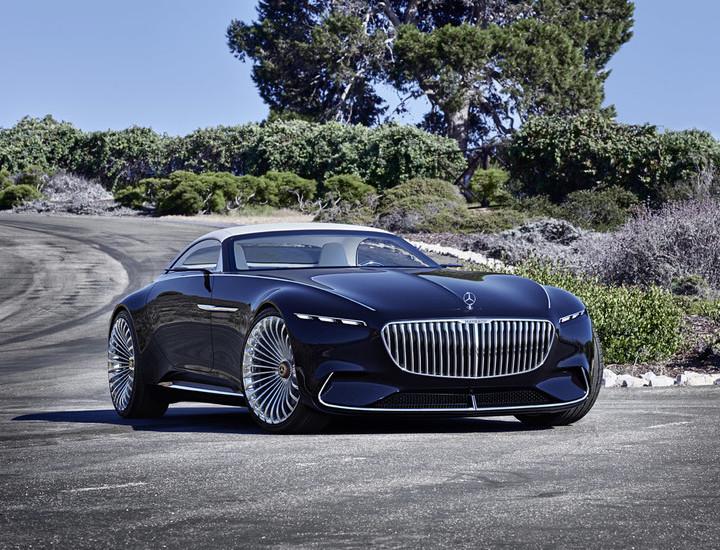 Vision Mercedes-Maybach 6 Cabriolet, un eléctrico de 760 CV alucinante