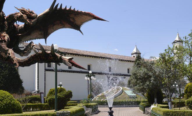 Dragón del Convento de Zacatlán de las Manzanas.