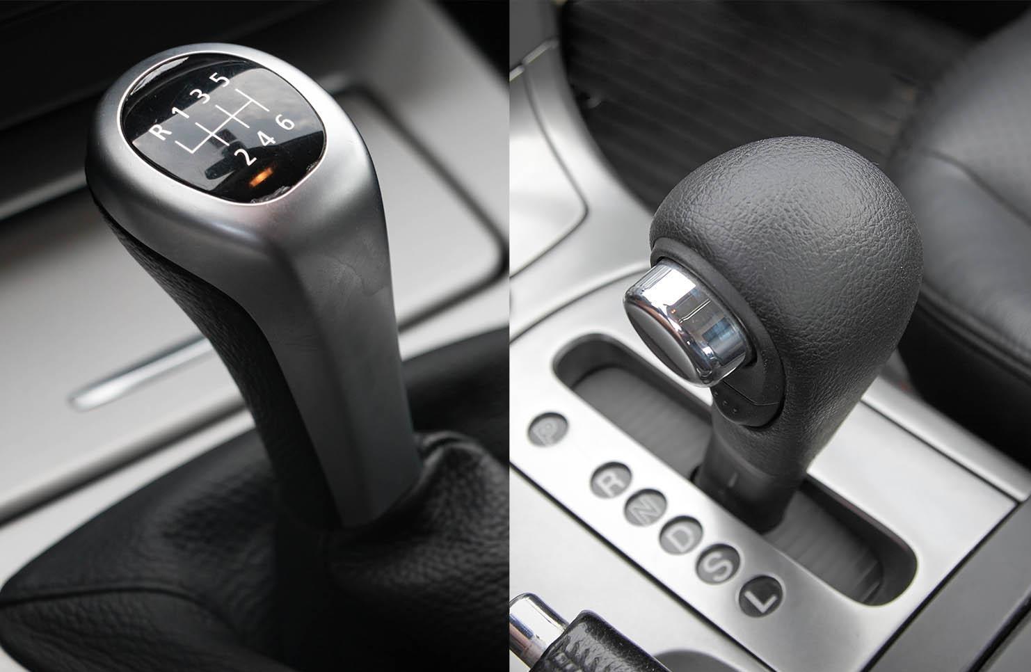 ¿Cuáles son las diferencias entre un auto automático y uno estándar?