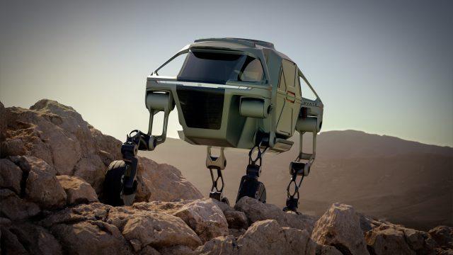 Hyundai presenta un vehículo todoterreno al estilo de 'Star Wars'