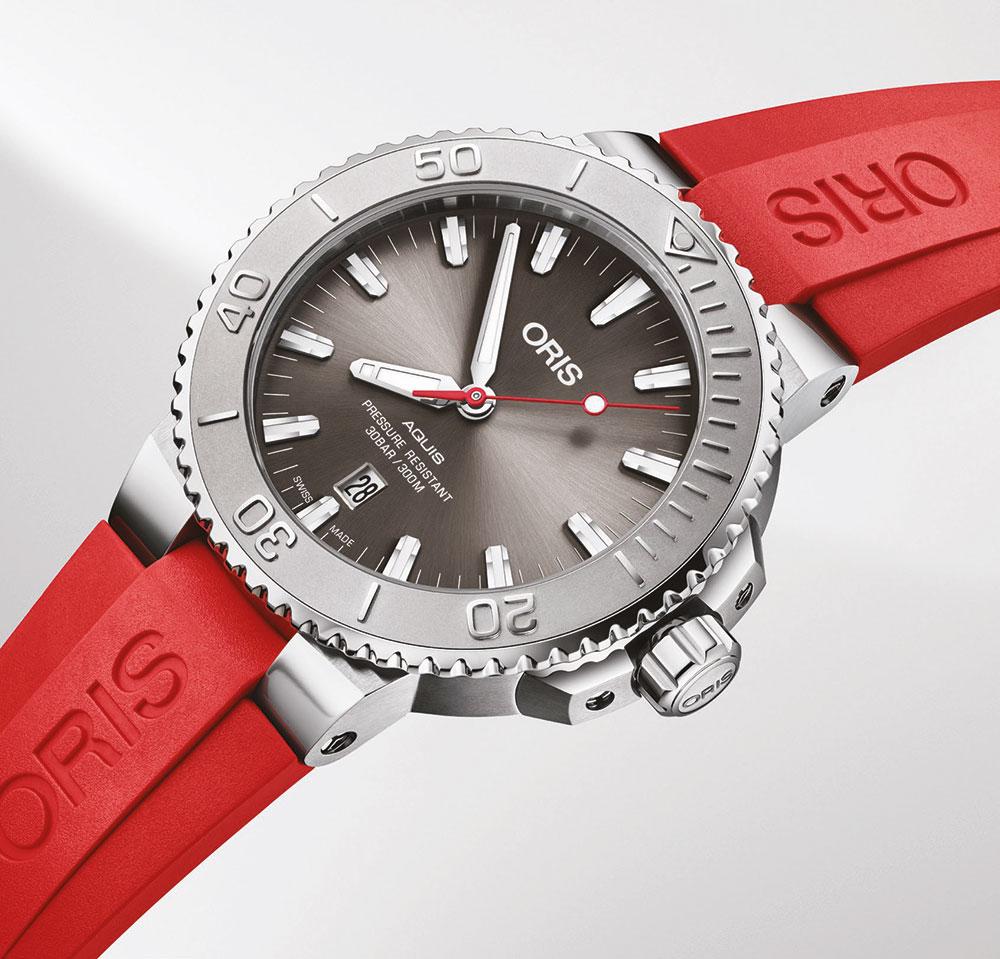 Lanzamiento del Oris Aquis Date Relief, el reloj de alta calidad.