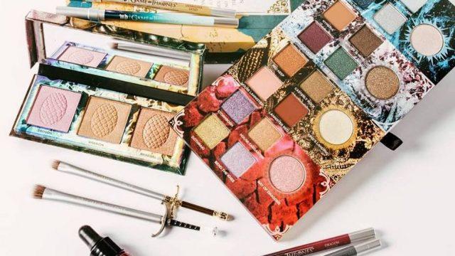 Sólo para fans: crean colección de maquillaje inspirada en Game of Thrones.