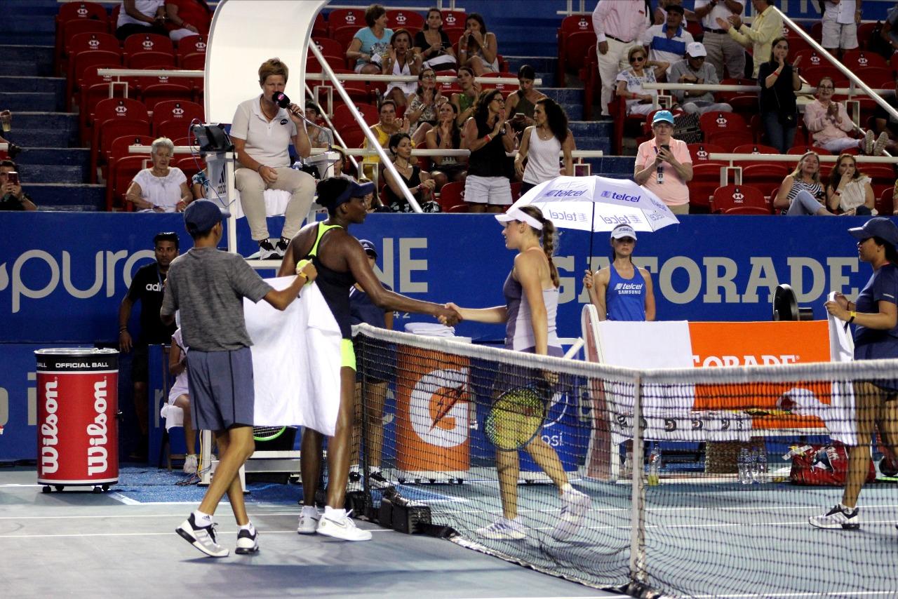 Kaja Juvan elimina a Venus Williams
