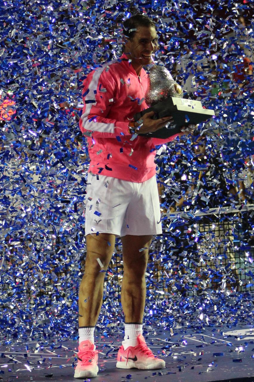 Nadal: un campeón por partida triple