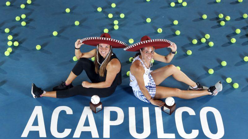 Giuliana Olmos da la cara por México y se corona en dobles