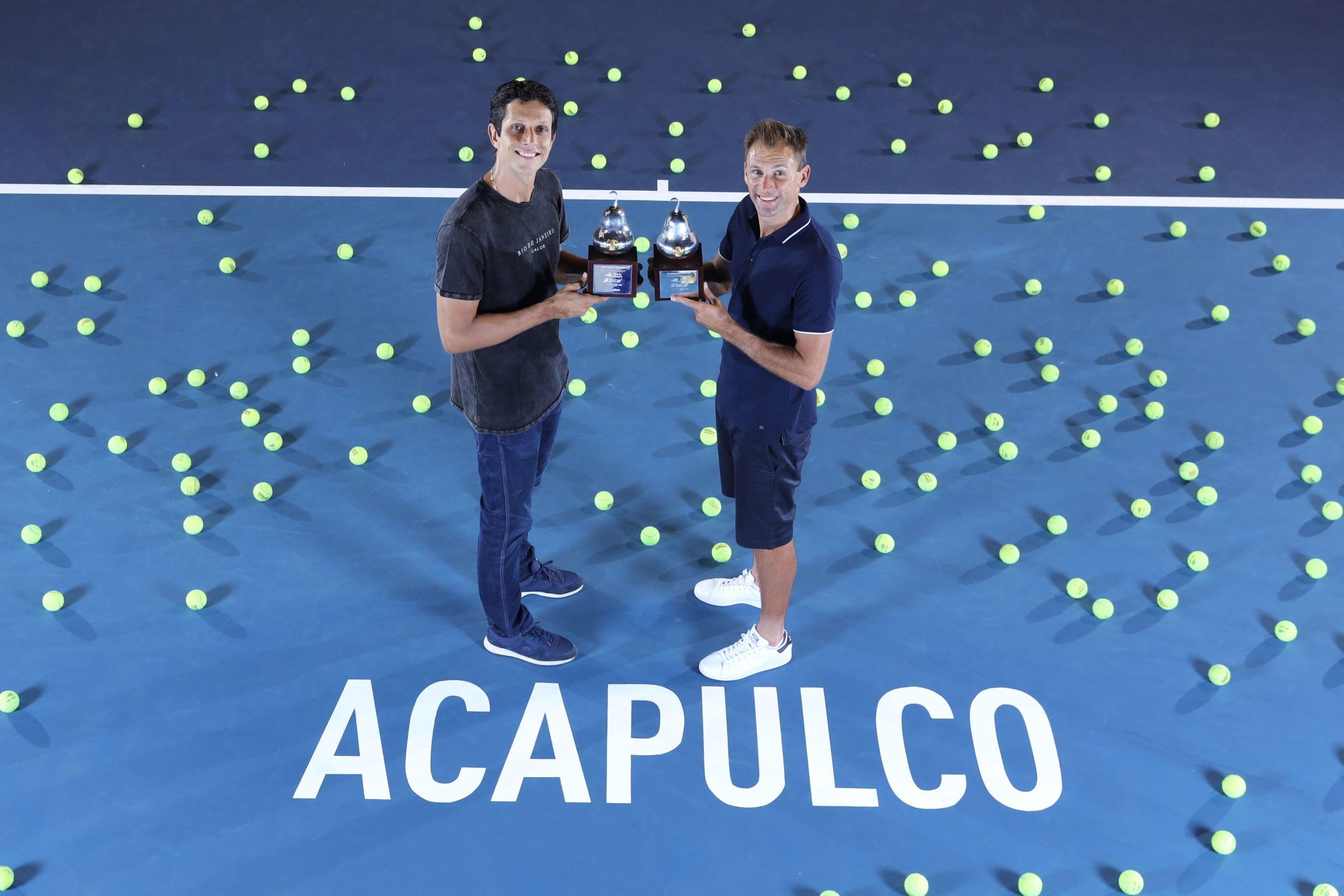 Kubot y Melo, festejaron otro título de dobles en el ATM