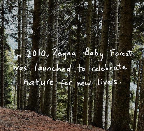 Oasi Zegna y Baby Forest: Mensajes Positivos