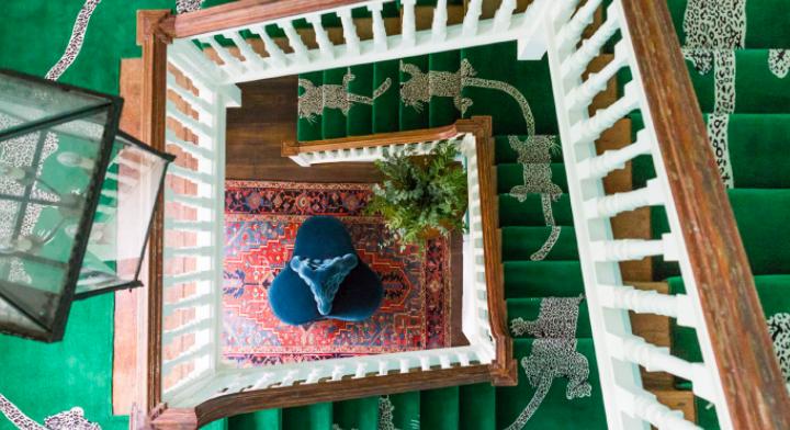 Nunca pensaste que tus escaleras pudieran ser tan divertidas