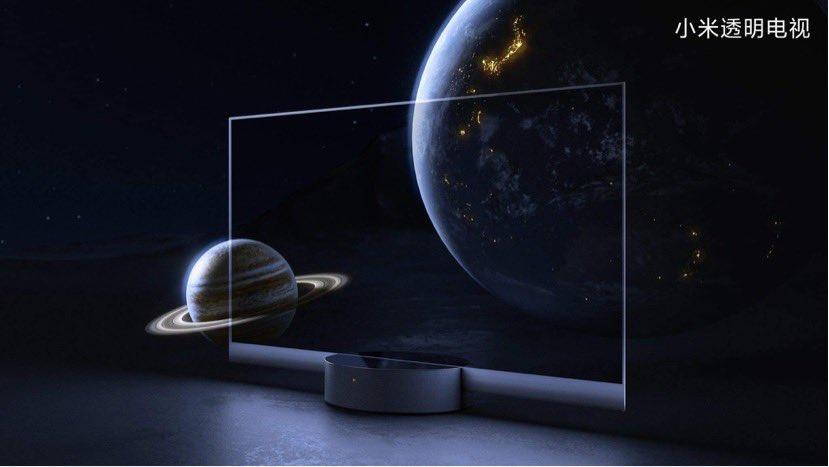 Xiaomi presenta el primer televisor transparente producido en masa del mundo