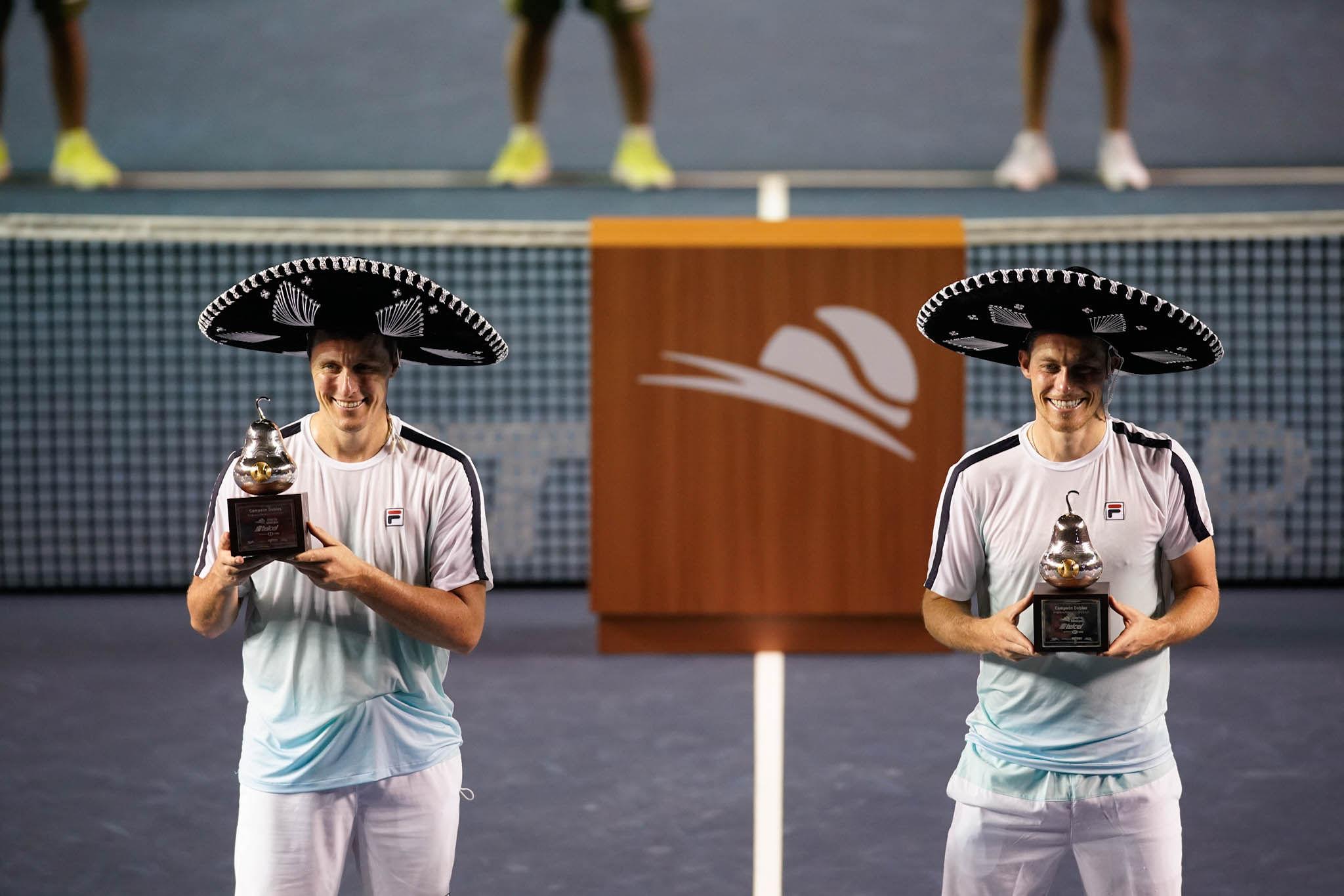 Ken y Neal Skupski conquistan Acapulco por primera vez.
