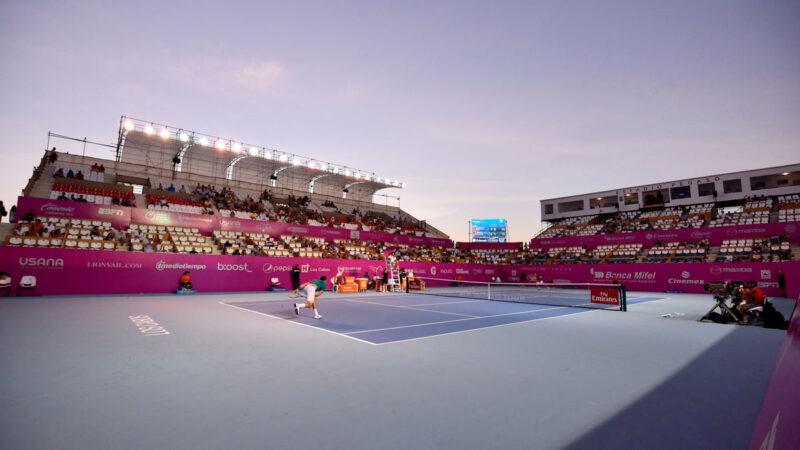 El Abierto de Tenis MIFEL se jugará a puerta cerrada.