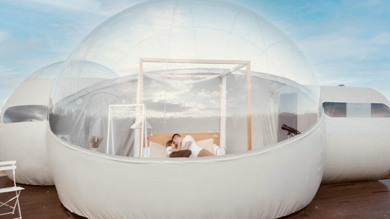 Conoce este nuevo y muy 'instagrameable' hotel burbuja en la CDMX.