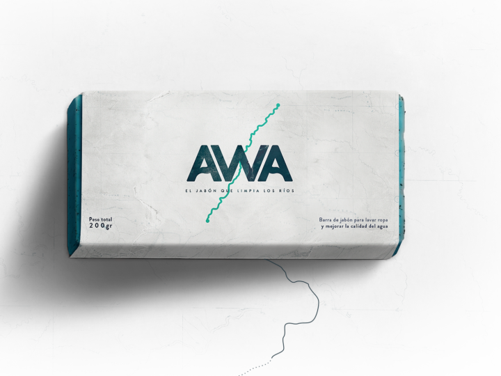 Meet 'AWA', the soap that cleans the rivers by andea & fahrenheit DDB.