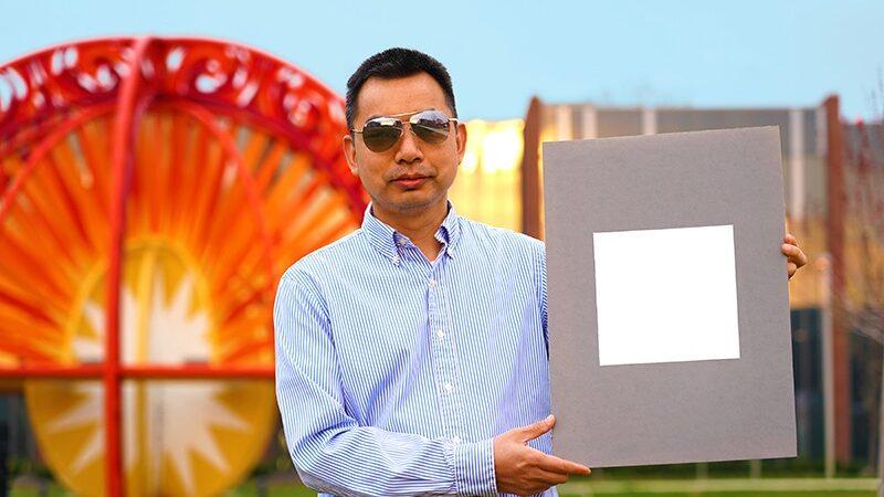 Ingenieros crean la pintura más blanca del mundo.