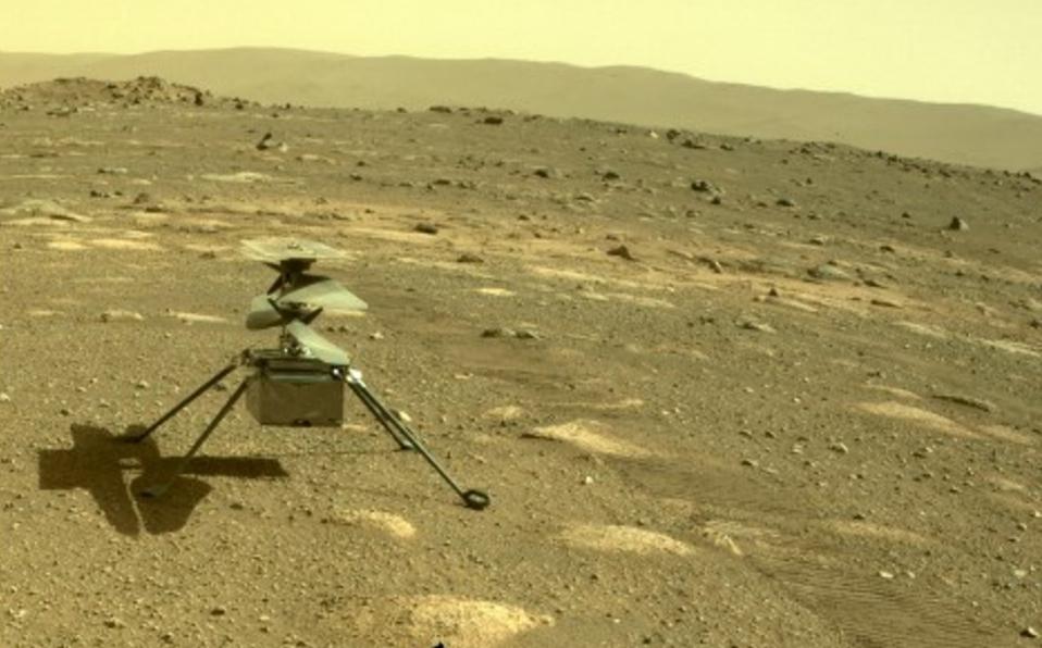 'Volamos en Marte': la NASA completa el primer vuelo de una aeronave terrestre en otro mundo.