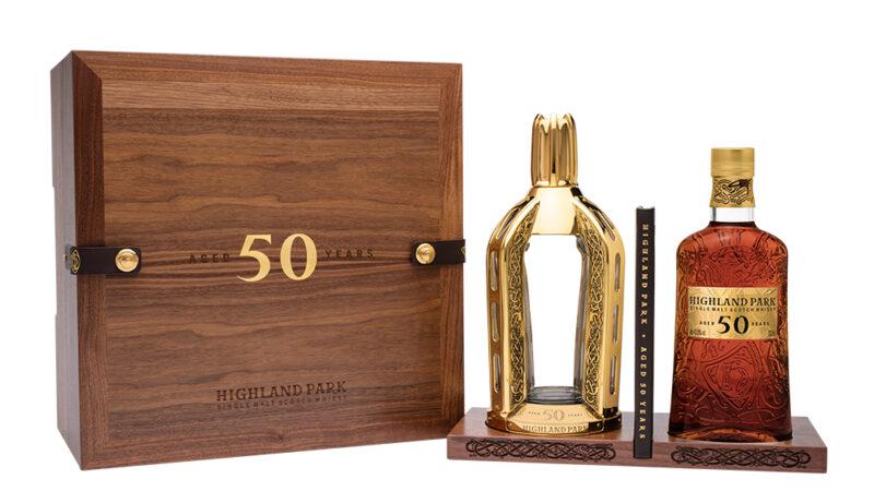 Highland Park 50 años llega a México con un whisky con valor superior a medio millón de pesos.