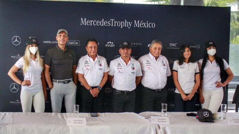Este 18 de junio celebramos 18 ediciones del Mercedes Trophy en México con 18 hoyos.