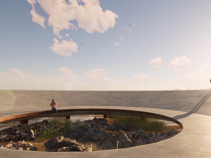 Gómez Platero designs World Memorial to the Pandemic for Uruguayan coast.