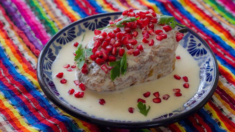 Las mejores recetas de Chiles en Nogada.